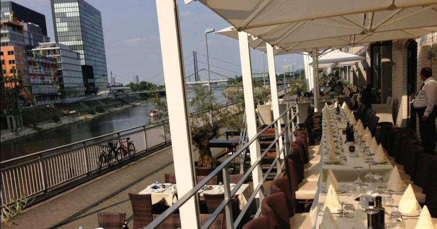 Event-Location direkt am Rhein